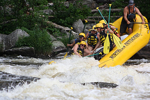 Whitewater Rafting Penobscot River