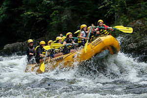Whitewater Rafting Kennebec River